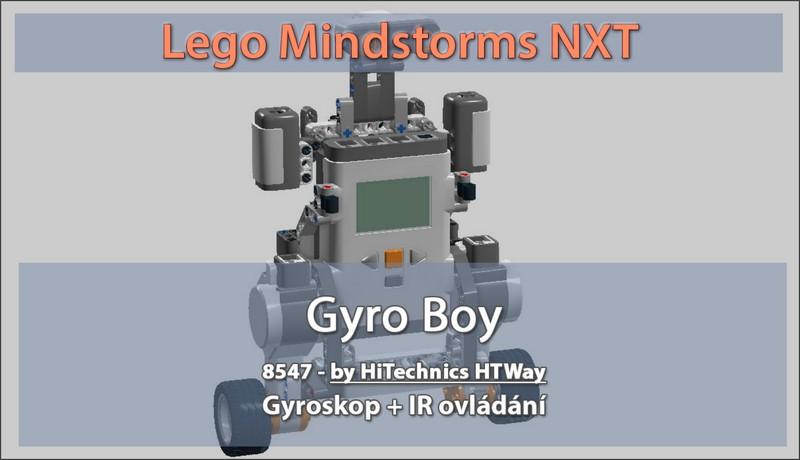 Roboti s gyroskopem